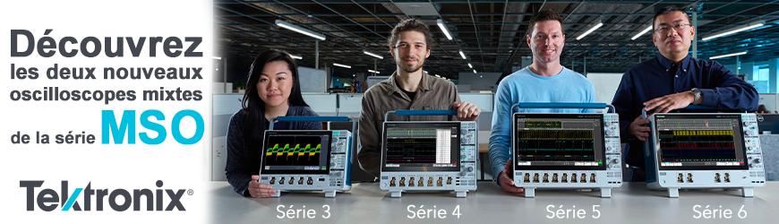 La gamme d'oscilloscopes MSO s'étoffe avec l'arrivée du MDO3 et MSO4   TEKTRONIX