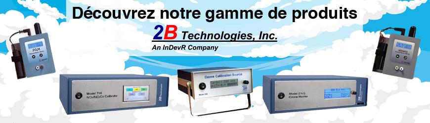2B Technologies Mesure et contrôle d'ozone, azote, mercure et noir de carbone