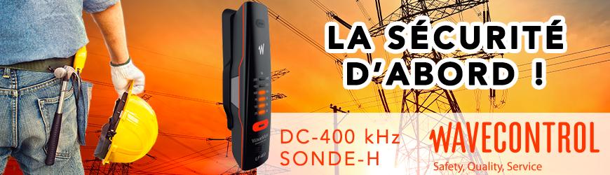 Exposimètre électromagnétique personnel 400 Hz