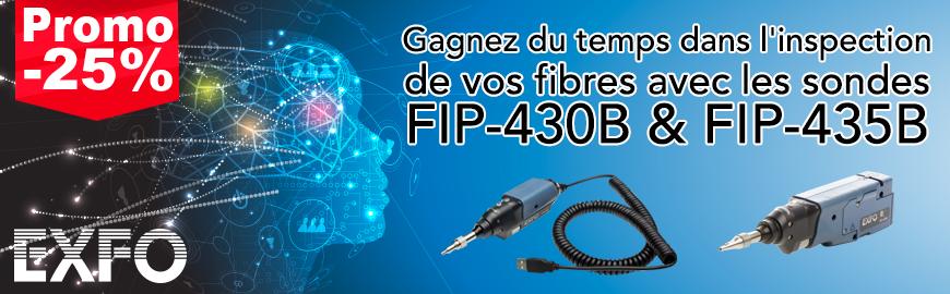 -25 % sur les sondes d'inspection fibre optique FIP-430B & FIP-435B