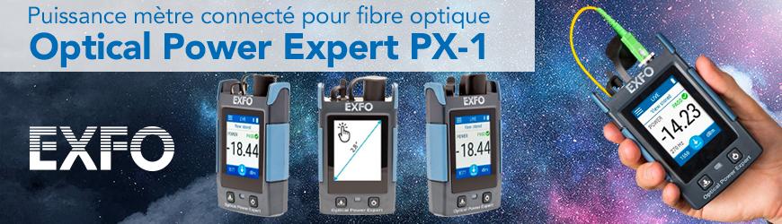 Mesurez et analysez votre fibre optique avec le EXFO PX1