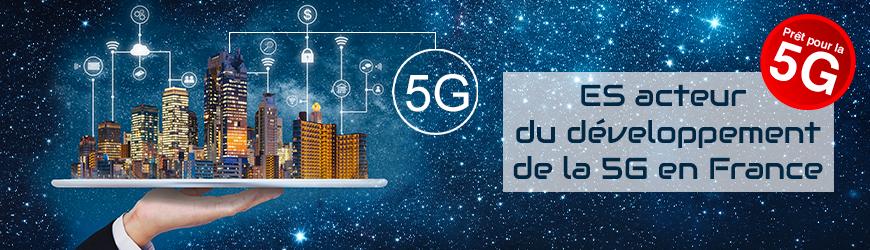 ES acteur du développement de la 5G en France