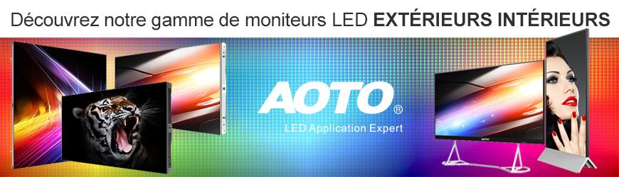 Moniteurs LED extérieurs intérieurs | AOTO