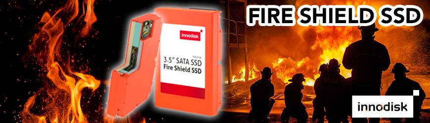 FIRE SHIELD SSD : disque flash résistant au feu | INNODISK